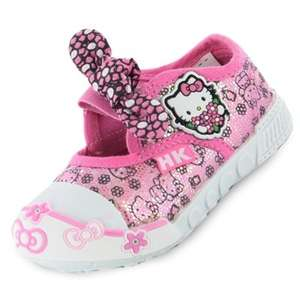 Hello Kitty OPPLAND Canvas shoes £5 del @ Kids Shoe Factory