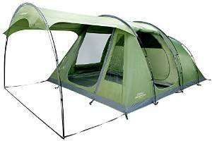 Vango Odyssey 500 SC Tent with Attached Sun Canopy @ Amazon