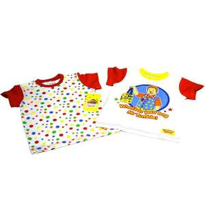 Twin Pack of Mr Tumble Kids T-Shirts £4.68 (With Code CS15) @ BBC Shop