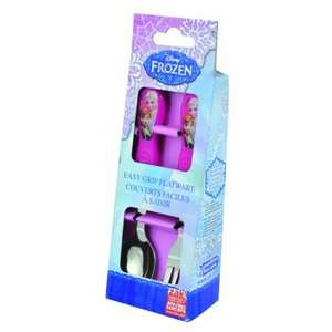 Frozen easy grip cutlery @ Internet Gift Store