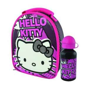 Hello Kitty lunch bag and aluminium bottle £3.99 @ IGS