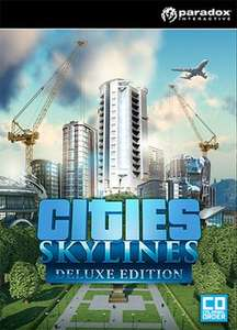 Cities: Skyline Deluxe Edition [Physical Copy] £4.99 Instore @ Game