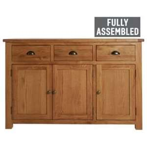 Kent 3 Door 3 Drawer Sideboard fully assembled and delivered from ARGOS using code