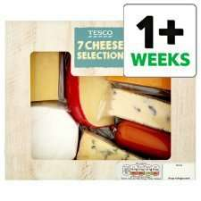 Tesco 7 Cheese Selection Pack 560Ghalf price £4.00 from 9th @ tesco