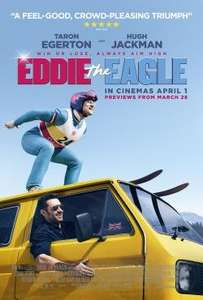 Eddie the eagle movie 13/03/16 	10:30 showfilmfirst