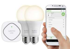 Belkin WeMo Smart Home Kit 70% off @ Wyevale Garden Centres