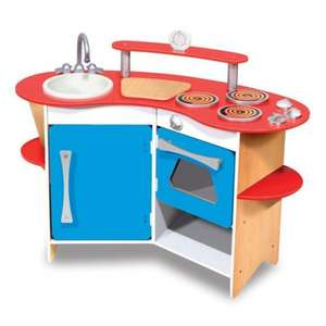 Melissa and Doug Wooden Play Kitchen £42 Delivered @ jarrold