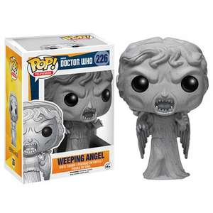 Doctor who weeping angel pop vinyl £6.99 @ BBC shop free delivery