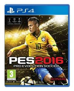 Pro Evolution Soccer 2016 (Ps4) £22.99 delivered @ Currys/PC World