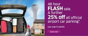 48 HOUR 25% OFF CAR PARKING SALE AT EDINBURGH AIRPORT