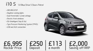 Hyundai I10 from Rockar for £6995