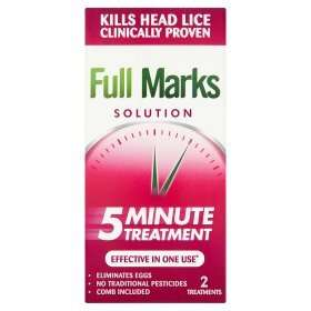 Full Marks Headlice Treatment only £2.22 in Asda