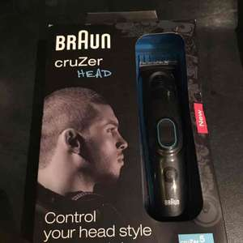 Braun Cruzer Head 5 Hair Clippers instore at Tesco (Bathgate) for £4