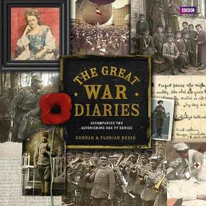 The Great War Diaries - Hardback £9.60 delivered @ BBC SHOP