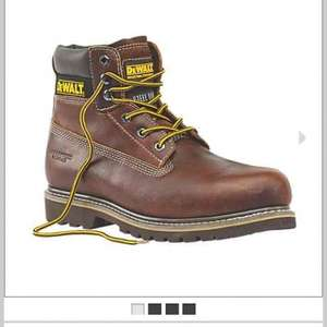 DeWalt Platinum Welted Safety Boots Tan  £39.99 from screwfix