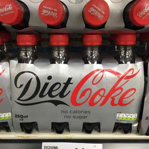 8 x 250ml Diet Coke £1 @ Farmfoods