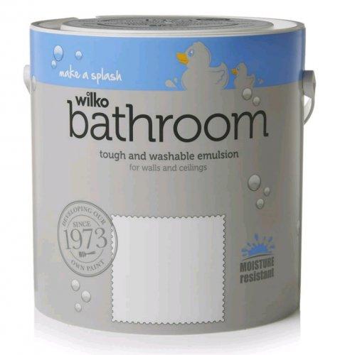 Wilko Bathroom Paint - was £15 now £12