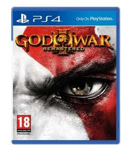 God of War III: Remastered (PS4) £13.96 Delivered (Using Code) @ Video Game Box