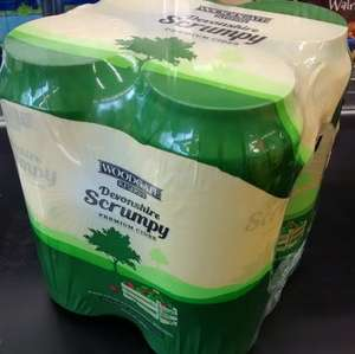 Reserve Devonshire Scrumpy Premium Cider 4x440ml 6% proof @ Lidl