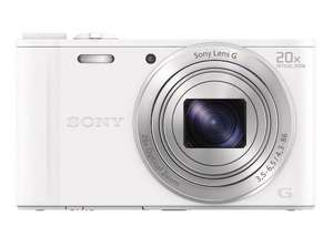 Sony Cyber-shot DSC-WX350 WX350 Digital Camera - White @ thecameracentreuk (Ebay) £109.99 delivered