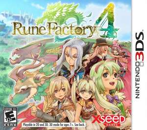 Rune factory 4 £17.49 on the 3ds eshop