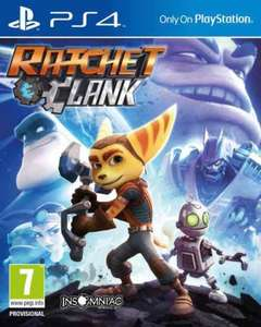 Ratchet & Clank for PS4 £24.97 @ gamestop