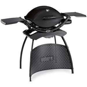 Weber Q2200 BBQ with stand £245 free standard delivery at M W Partridge & Co