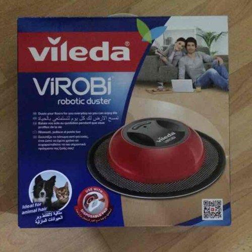 Vileda Cordless 6V Bagless Dusting Robot £10 @ B&Q