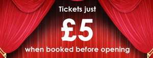 Any ticket booked before opening £5.00 includes Batman v Superman: Dawn of Justice 3D (new light cinema walsall)