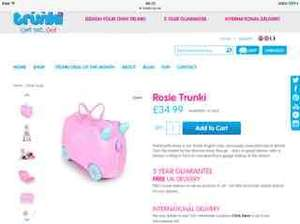 Trunki 30% off full price lines this week only