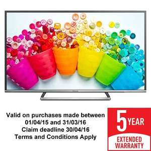 Panasonic TX-50CS520B 50 Inch Smart HD LED TV - £351.01 Southern Electric (SSE) - including 5 year warranty