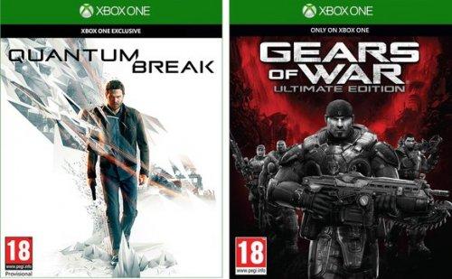 Quantum Break + Gears of War Ultimate Bundle (Xbox One) £41.95 Delivered @ Coolshop