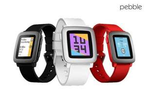 Pebble Time Smartwatch £79.95 + £7.95 shipping = £87.90 delivered @ iBOOD