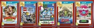 Wii U Nintendo Selects for Pre-Order: Wind Waker HD, Lego City Undercover, Donkey Kong Tropical Freeze, Wii Party U, New Super Mario Bros. U + New Super Luigi U @ ShopTo - £16.85