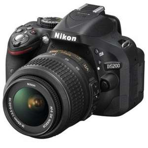NIKON D5200 DSLR Camera with 18-55 mm f/3.5-5.6 VR II Lens £349 @ Currys