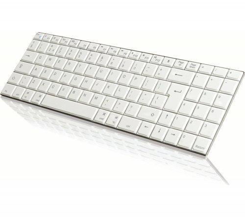 IWANTIT Bluetooth Mac Keyboard - White - £8.99 instead of £19.99 - Curry's