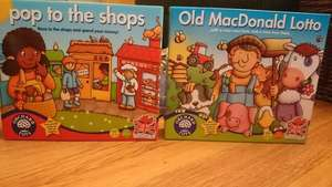 Orchard Toys - old McDonald lotto and pop to the shops £2 @ Tesco instore Chester