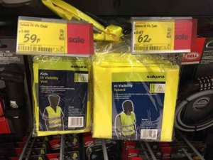 Hi Visibility Vest - adult 62p & kids 59p @ Asda in Sutton