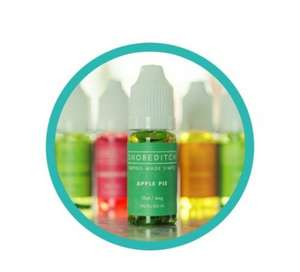 3 x 10ml bottles of quality vape liquid delivered for 99p with code TWEET99 at Shoreditch