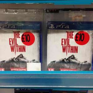 The evil within PS4/Xbox one £10 @ Sainsburys
