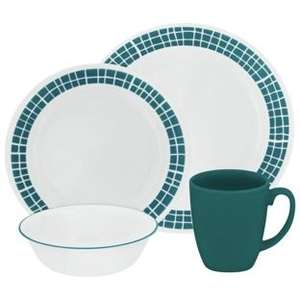 Corelle Dinnerware (Wear, Chip, Crack, Stain Resistant) 16 Piece Sets From £49.99 + 20% Off With HOME20 @ Argos, £40 + £3.95 If You Choose Home Delivery
