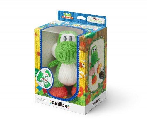 Mega Yarn Yoshi amiibo (Nintendo Wii U/3DS) £19.99 Prime / £21.97 non prime @ Amazon