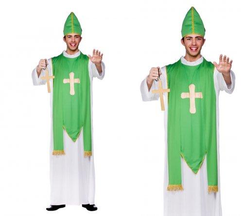 St Patricks Days Costume Mens Irish Mascot Fancy Dress £13.94 from onefancydress / ebay