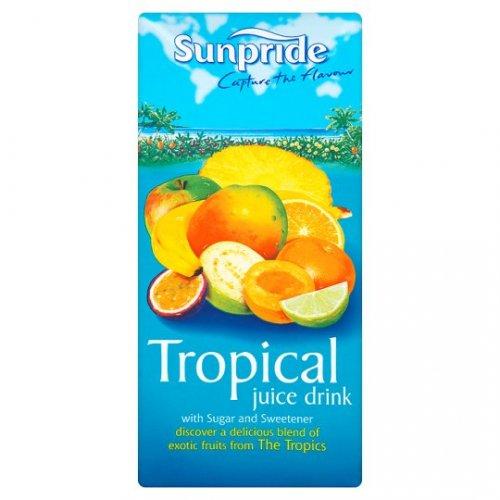 Sunpride Tropical Juice Drink 1 Litre 3 for £1 @ ASDA instore