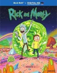 Rick & Morty: Season One Blu-Ray (region free) £13 @ Amazon USA delivered