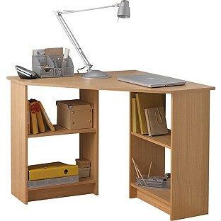 Malibu Corner Office Desk Oak Effect £22.99 (Was £79.99) @ Argos