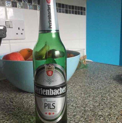 Perlenbacher Premium PILS Beer 500ml Bottle only 84p Lidl