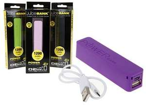 PowerCell USB Power Bank 1,200mAh £1 in Bargain Buys