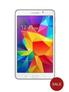 Samsung Galaxy Tab 4 Quad Core Processor, 1.5Gb RAM, 8Gb Storage, 7 inch Tablet - White £99 @ Very