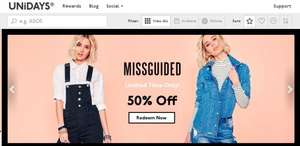 50% off at Missguided using code NOJOKE!!!